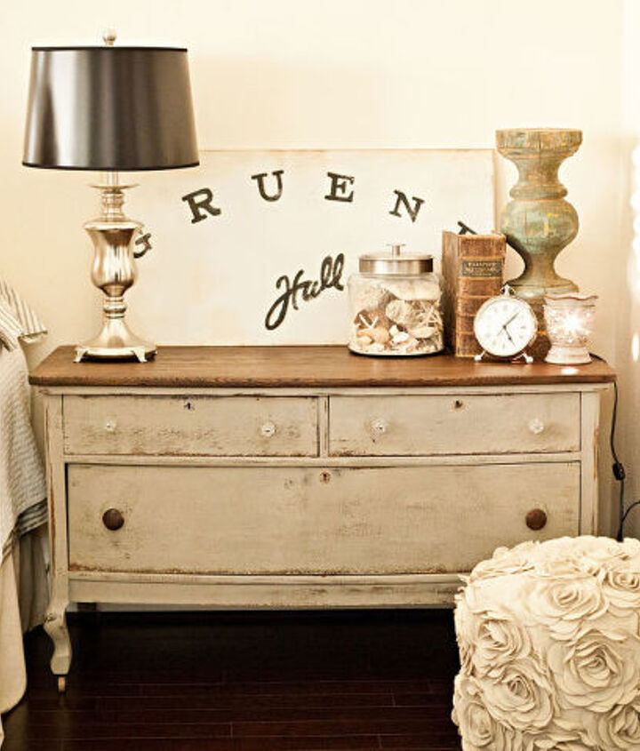 Old Dresser from Gruene and refinished by me in ASCP French Linen
