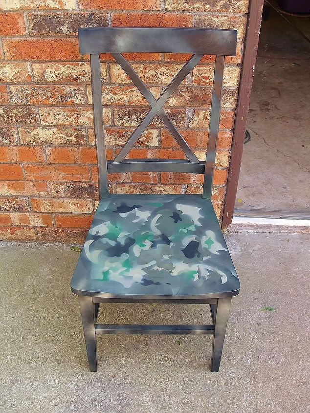 After - made someone a pretty nice camo chair.