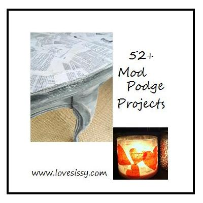 52 mod podge craft amp diy projects amp art, crafts, decoupage, painted furniture