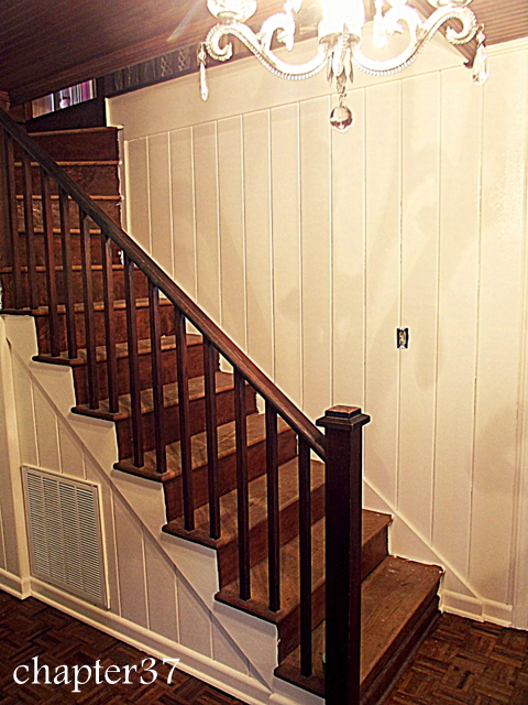 everything you ever wanted to know about painting wood paneling, home maintenance repairs, how to, paint colors, painting, wall decor, after two coats of primer and two coats of paint