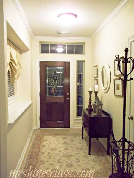 creating a welcoming foyer, foyer, home decor, The foyer has gone through many looks over the years but I m finally getting closer to the look that I ve been trying to achieve all this time