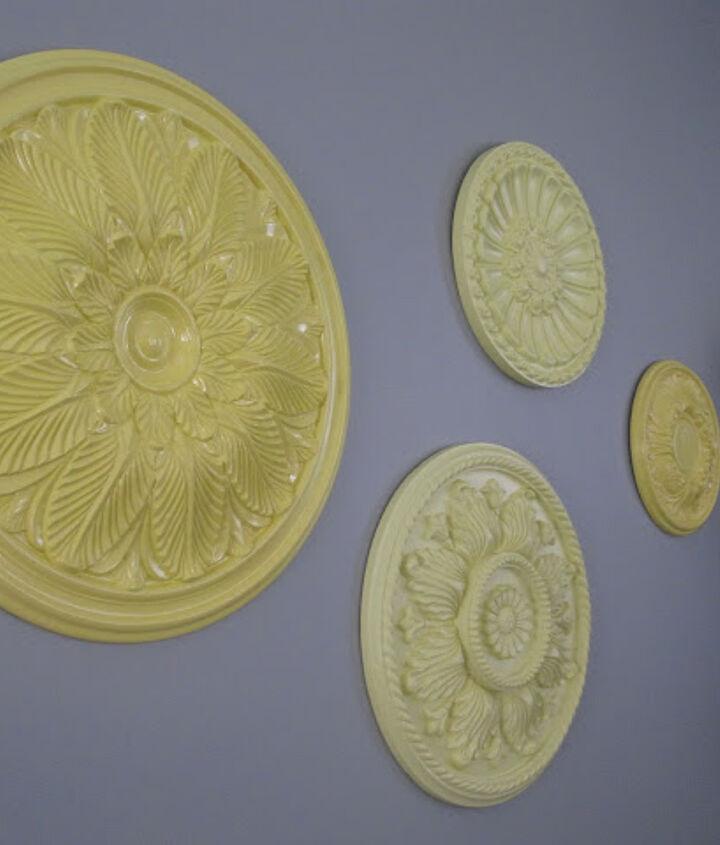 DIY: Colorful Wall Medallions