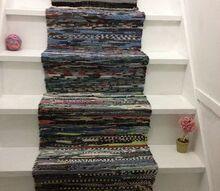 q attic stairs, flooring, repurposing upcycling, stairs