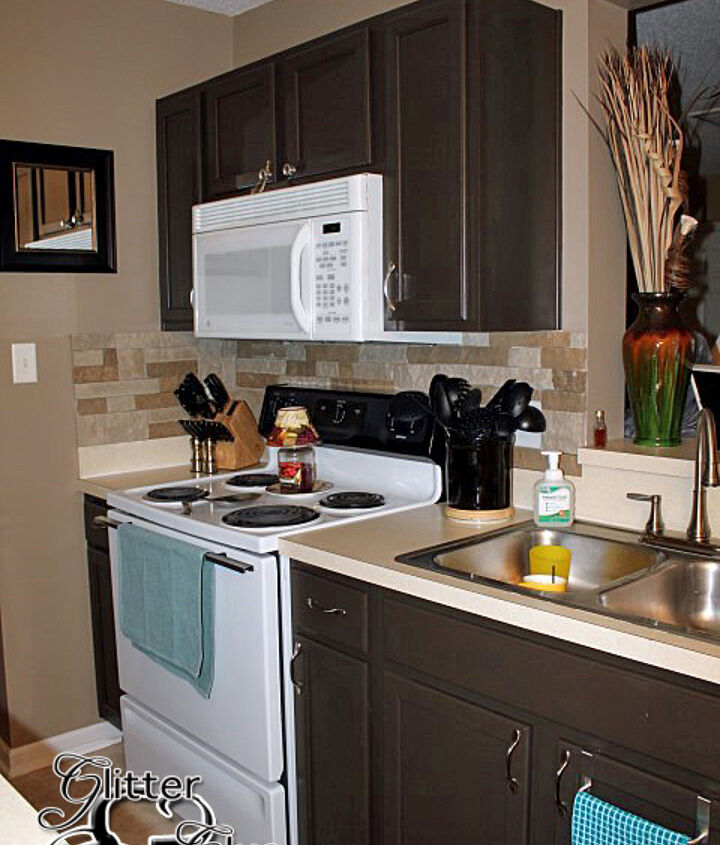 freshly painted kitchen, kitchen design, painting