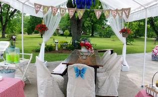 a spring garden party, gardening, outdoor living