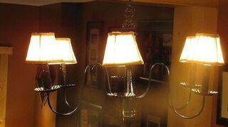 light bulbs on chandeliers, home decor, lighting, My chanderlier