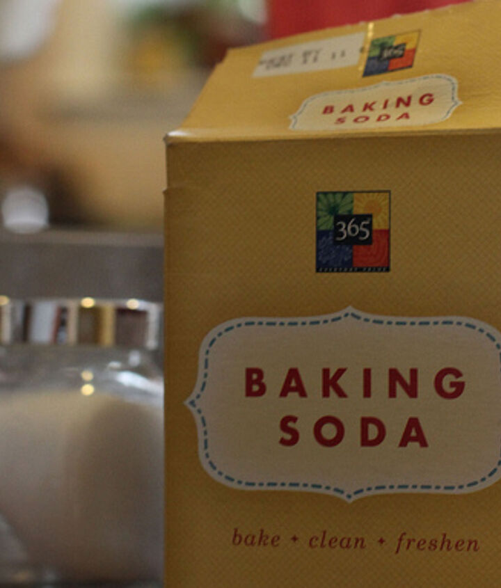Baking soda is in one of the recipes.