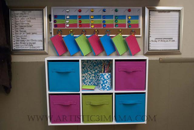 kitchen menu planning amp command center, cleaning tips, home decor, kitchen design, Kitchen Command Menu Planning Center
