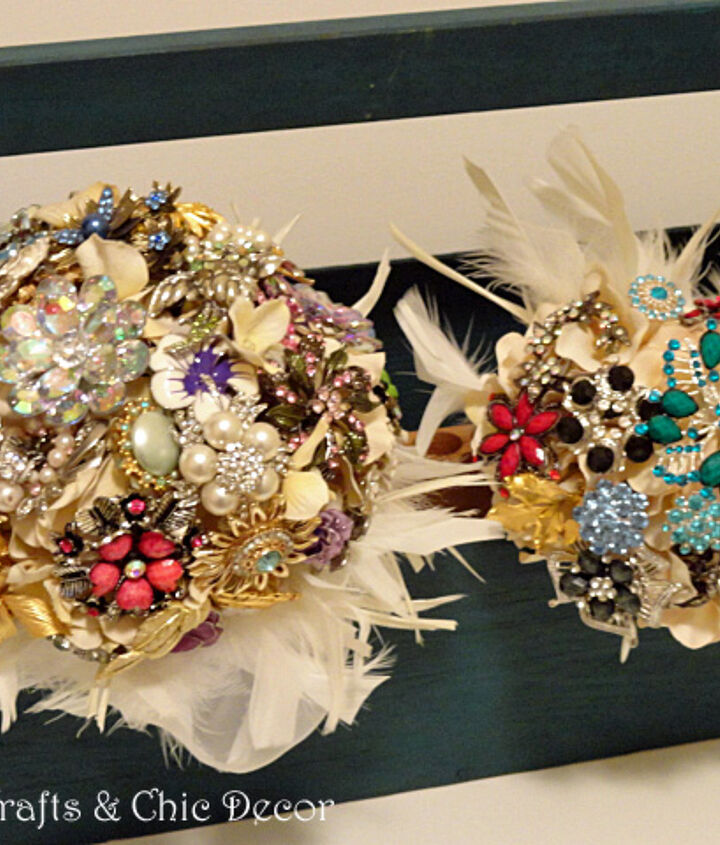 I will be using it to hold the brooch bouquets, I have been working on, during the wedding reception.