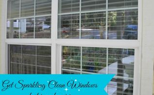 sparkling clean windows faster and easier tips from a pro, cleaning tips, windows