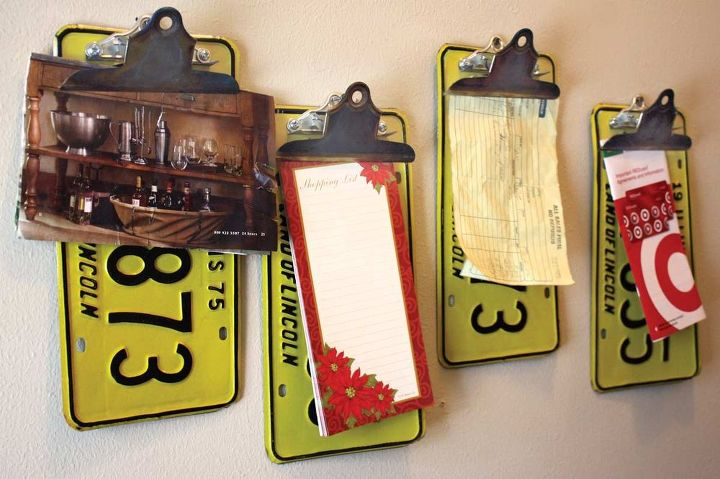 These are fun ways to display interesting things or to get organized and keep your counters cleaner.
