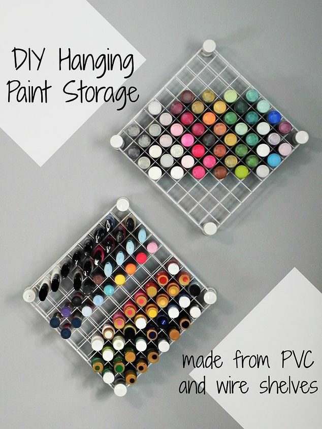 Diy hanging craft paint storage hometalk diy hanging craft paint storage shelving ideas storage ideas diy hanging paint storage solutioingenieria Gallery