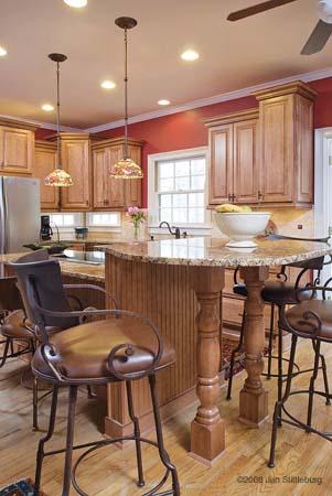 The Kitchen After A Full Remodel By AK: http://www.akatlanta.com/Atlanta-Kitchen-Renovations-By-AK