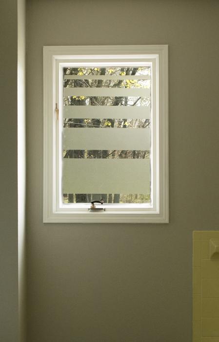 contact paper window, bathroom ideas, windows