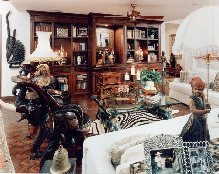 q are you a less is more type or a more is great type, home decor, living room ideas, eclectic collections