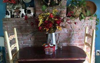 my new brick wall, concrete masonry, diy, fireplaces mantels, kitchen design, wall decor