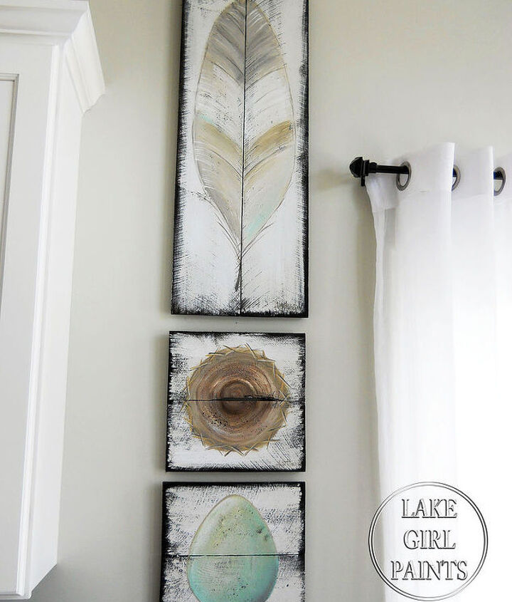 how to make rustic spring wall art, crafts, home decor