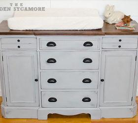 Updated Dresser Turned Changing Table Hometalk