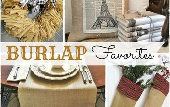 Readers' Favorites...Fun & Easy Projects Using Burlap