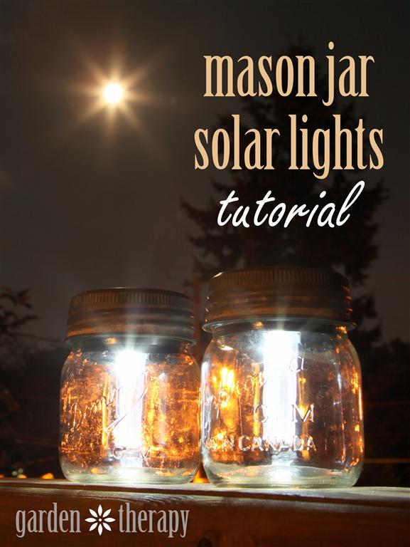 Mason Jar Solar Lights Crafts Jars Outdoor Living