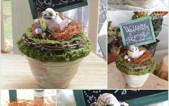 Spring Welcome for Michaels & Hometalk Pinterest Party