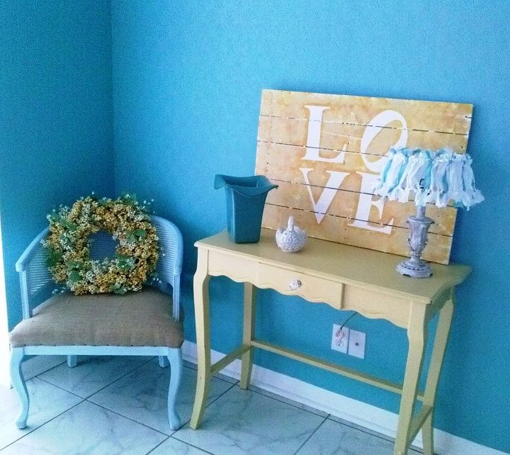 the chair that spoke to me, home decor, painted furniture