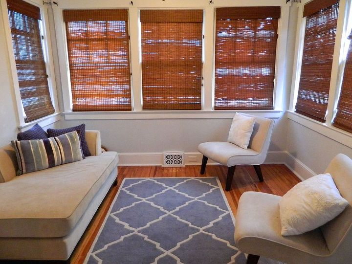 easy installation of bamboo blinds, diy, home decor, Updated room with the new bamboo blinds
