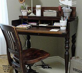 Vintage desks for home office Credenza Decorating My Office Vintage Style Hometalk Decorating My Office Vintage Style Hometalk