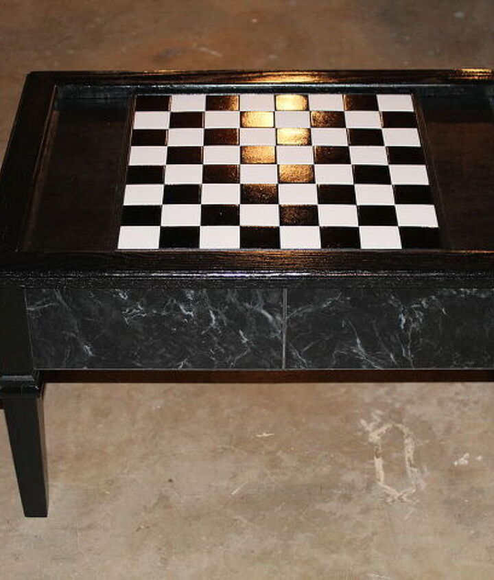 After made it a gaming table!