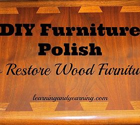 Diy Polish To Restore Wood Furniture, Cleaning Tips, Painted Furniture