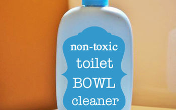 Homemade Non-Toxic Toilet Bowl Cleaner