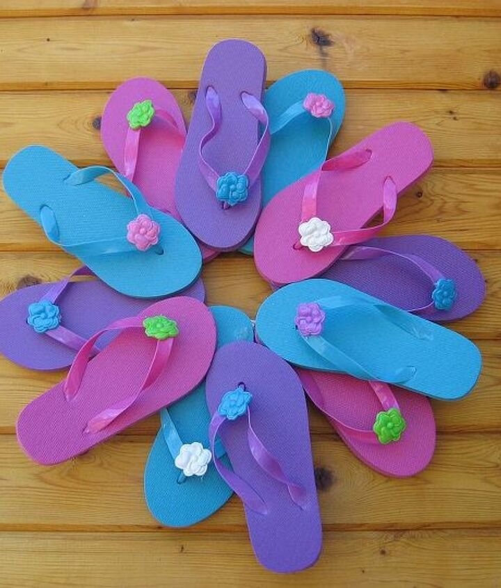 Flip Flop wreath... fun and easy.
