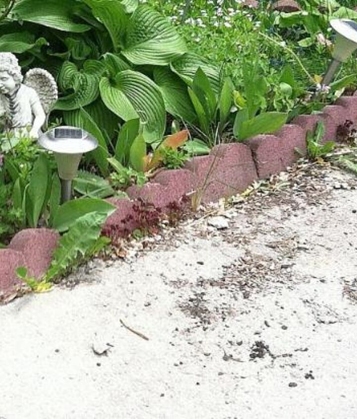 I had a problem with my front walk.it had a big hole that just seemed to get bigger every year