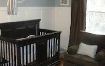 Blue Nursery for a Baby Girl