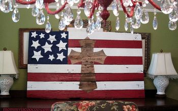 How to Make an American Flag From a Pallet