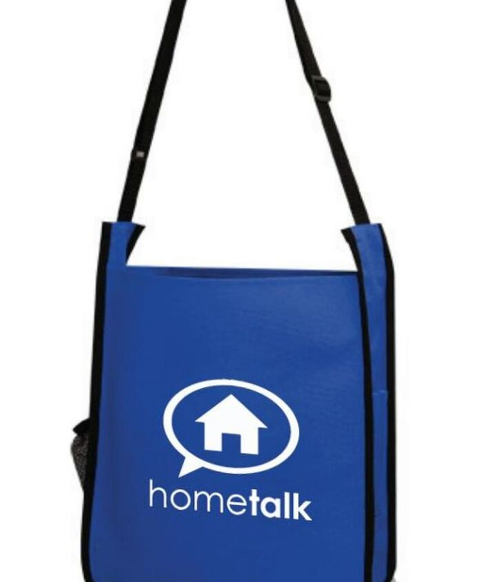 hometalk tote bags!  These great bags will hold some really nice swag!