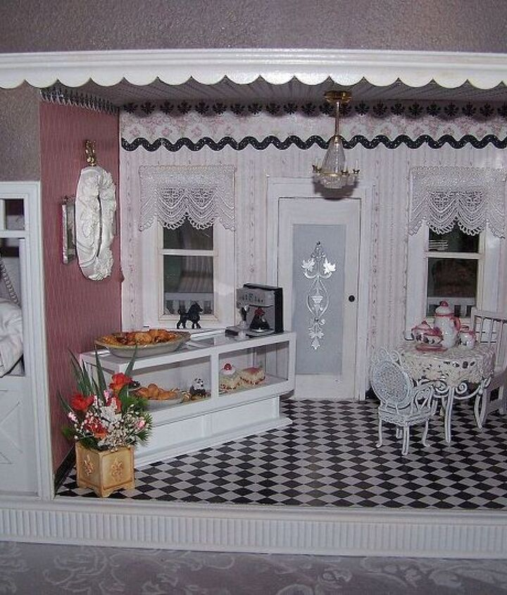 The finished cafe
