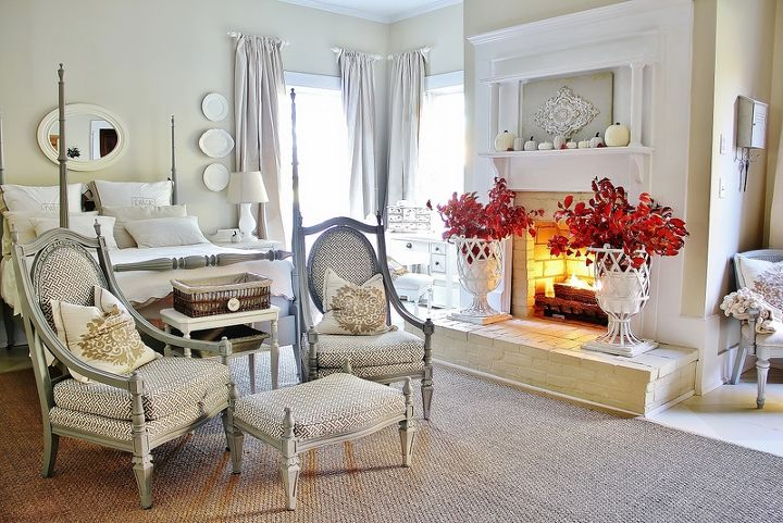 neutral farmhouse bedroom, bedroom ideas, home decor