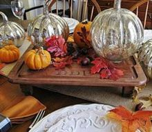 from thrift store cutting board to rustic monogrammed serving board, home decor, repurposing upcycling, It starred as the platform for my centerpiece in my Thanksgiving tablescape