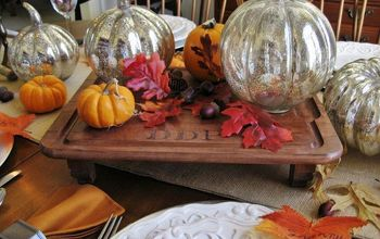 From Thrift Store Find to Rustic Monogrammed Serving Board