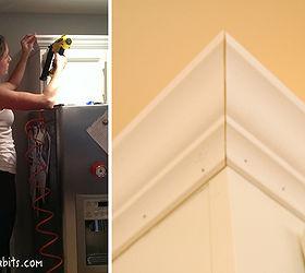 Adding Instant Drama To Kitchen Cabinets, Diy, Home Decor, Kitchen  Cabinets, Kitchen