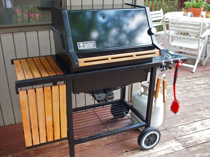 How to Rehab a Clic Grill | Hometalk Weber Grill Outdoor Kitchen Ideas Html on
