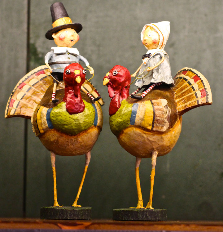 Pilgrim Fraternal Twins Turkey-Back Riding View One