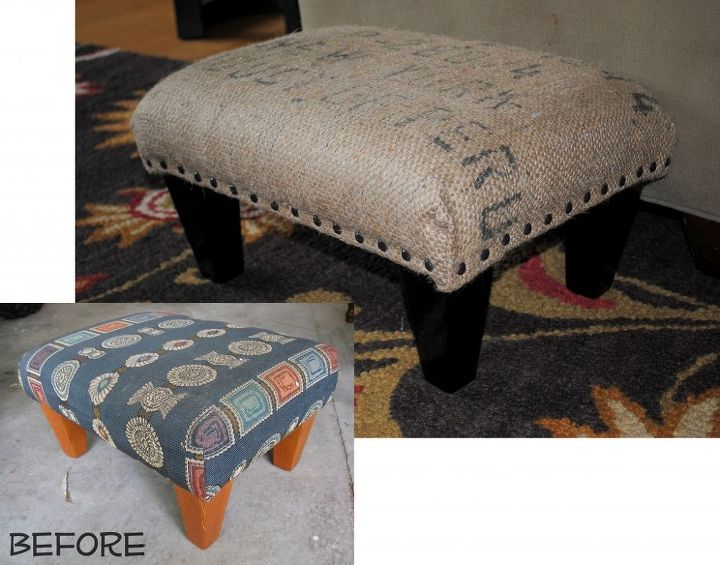 Before and after of the ottoman
