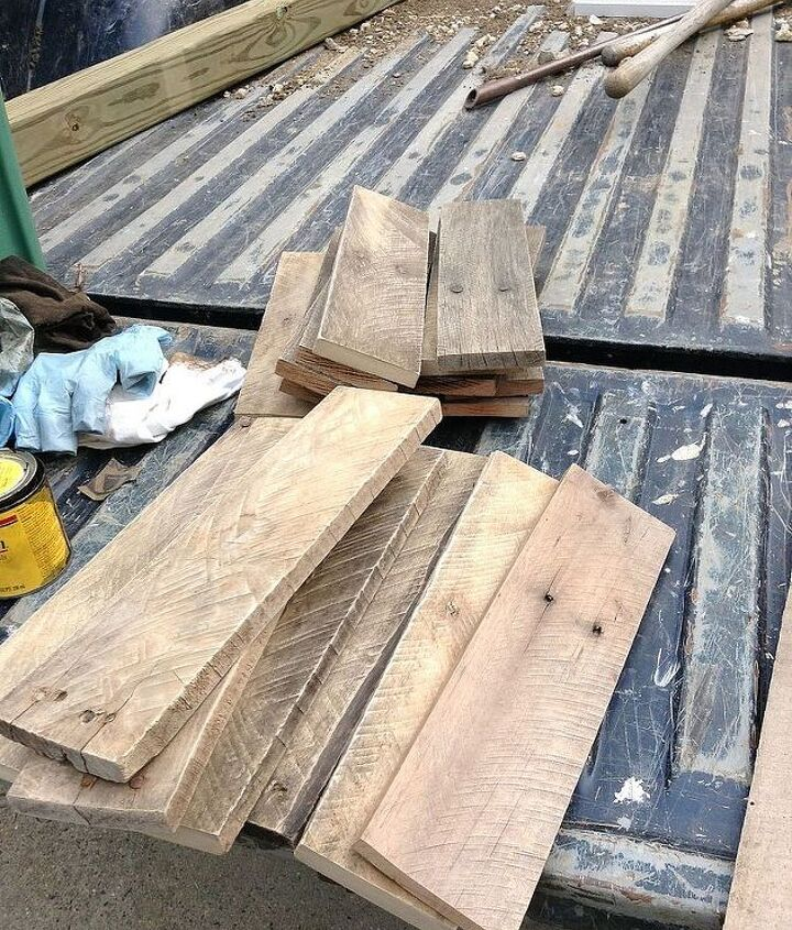 diy pallet hallway tree, diy, pallet, repurposing upcycling, woodworking projects, Cut cleaned and sanded each board