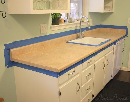 Redone Countertops With Giani Granite Countertops Paint Hometalk - How to redo kitchen countertops