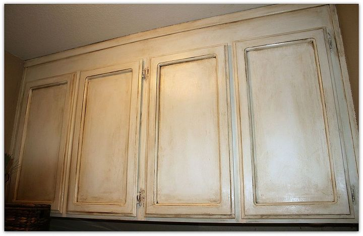 Painting Over Oak Cabinets Without Sanding or Priming! | Hometalk