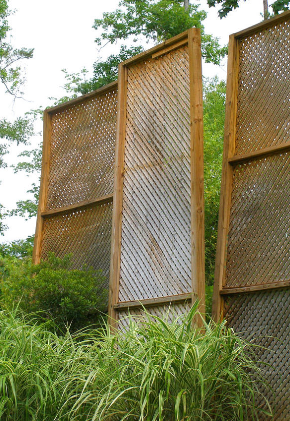 q privacy screen keeps blowing over in the wind, outdoor living, windows, Found this on HomeTalk or Pinterest or Both when i searched for possible solutions to my dismantled privacy screen