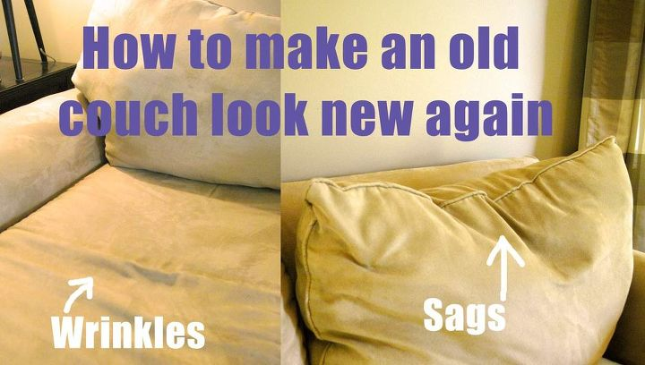 how to make an old couch new again for 10, painted furniture