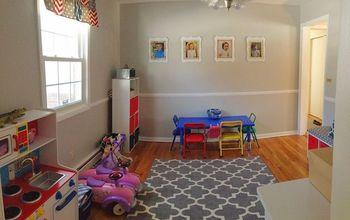 playroom makeover four kids one room, home decor, storage ideas